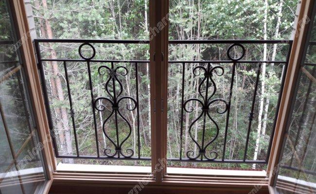 Кованый балкон bn-09