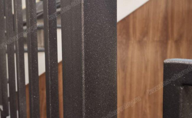 Простые кованые перила, фото заказа