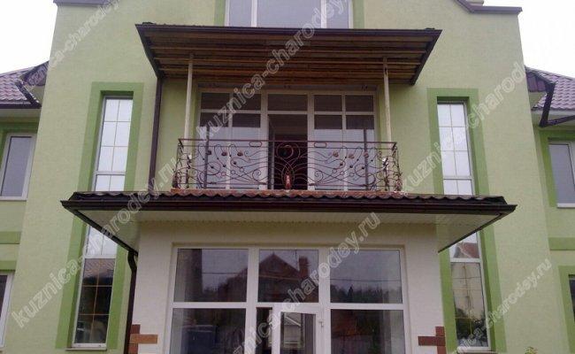 Кованый балкон bn-04
