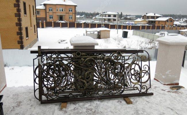Кованый балкон bn-06