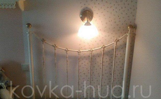 Детская кровать кованая kdo-0803
