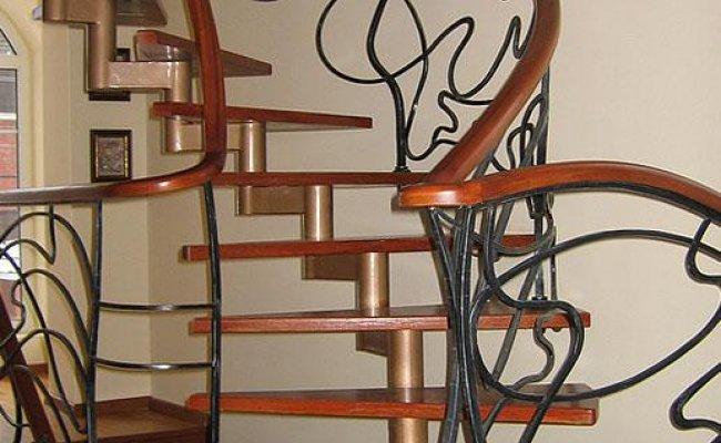 Лестница кованая kl-04
