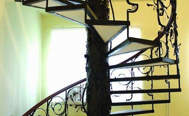 Лестница кованая kl-05
