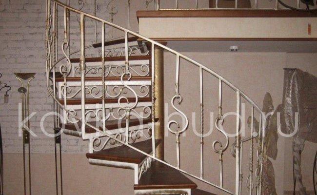 Лестница кованая kl-08