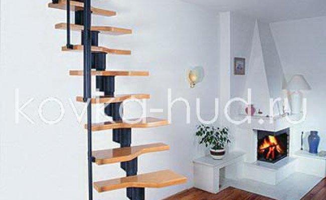 Лестница кованая kl-14