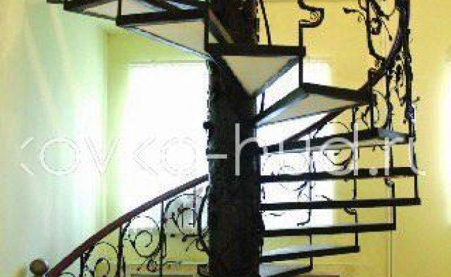 Лестница кованая kl-15