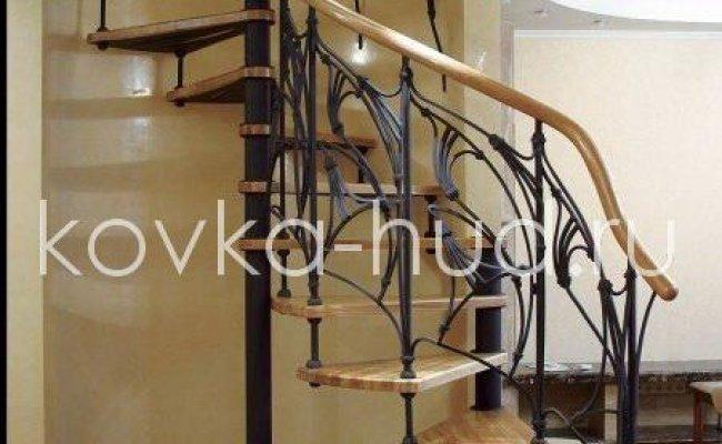 Лестница кованая kl-16