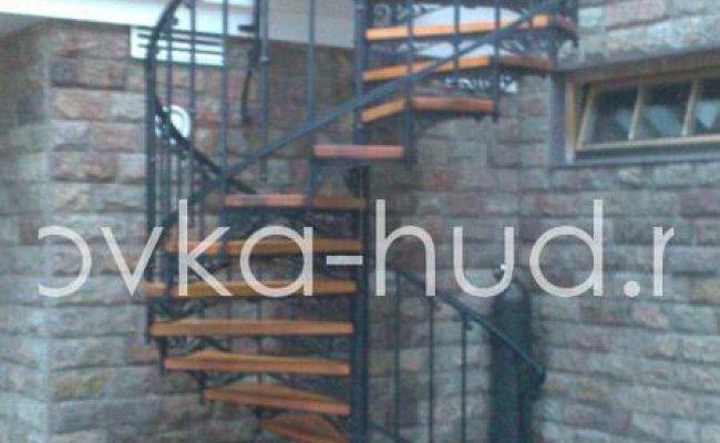 Лестница кованая kl-17