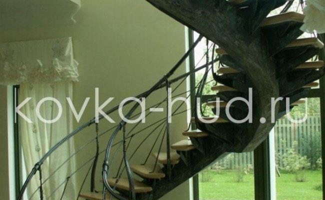 Лестница кованая kl-21