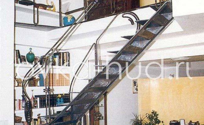 Лестница кованая kl-25