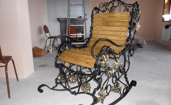Мебель кованая km-01003