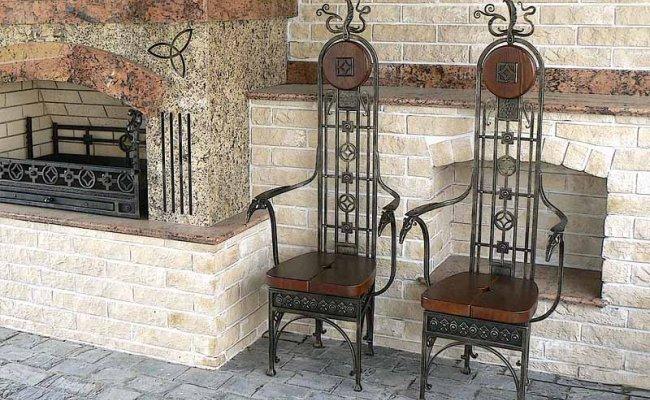 Мебель кованая km-01005