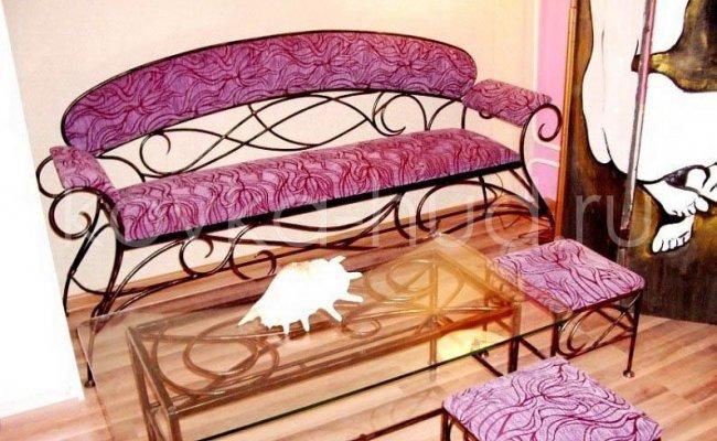 Мебель кованая km-01032