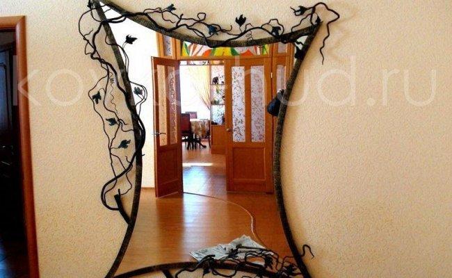 Зеркало кованое kzl-01401