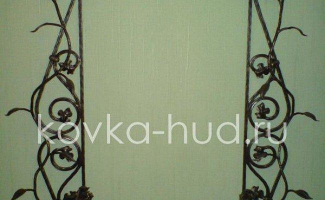 Зеркало кованое kzl-01406