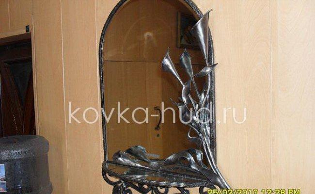 Зеркало кованое kzl-01416