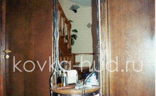 Зеркало кованое kzl-01418