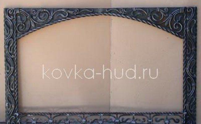 Зеркало кованое kzl-01421