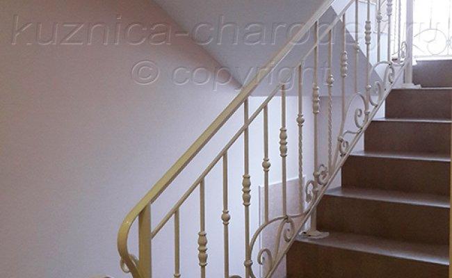 Кованые лестничные ограждения в доме