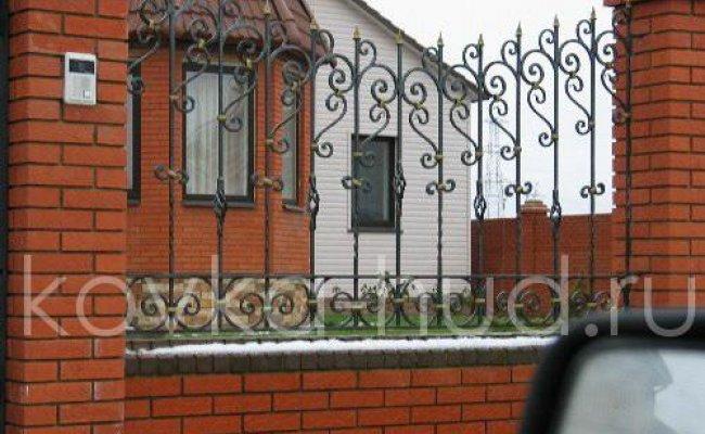 Забор кованый kz-05
