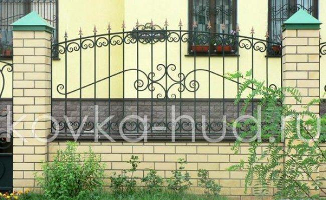 Забор кованый kz-10