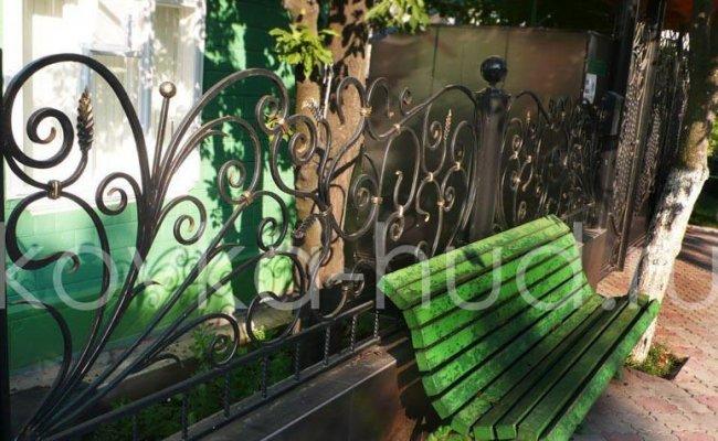 Забор кованый kz-11