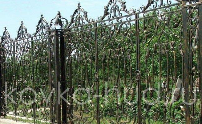 Забор кованый kz-12