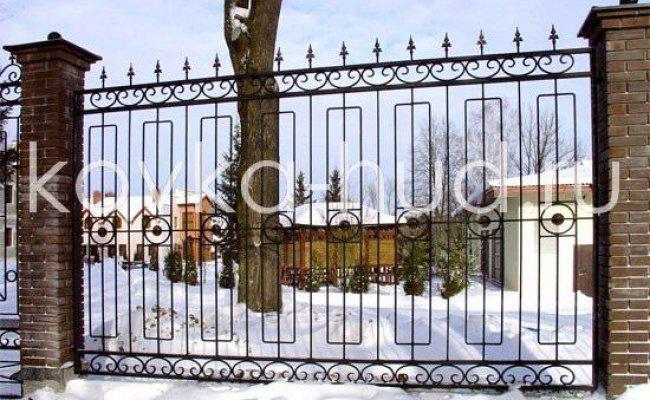 Забор кованый kz-18