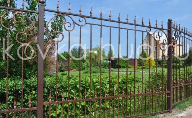 Забор кованый kz-21