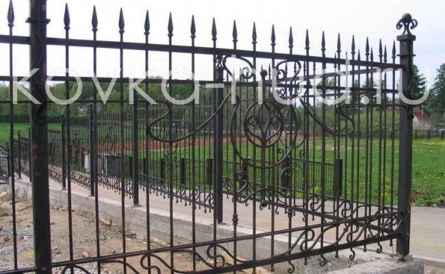 Забор кованый kz-23