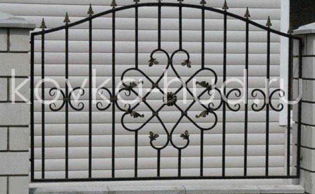 Забор кованый kz-29