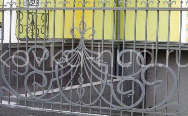 Забор кованый kz-30