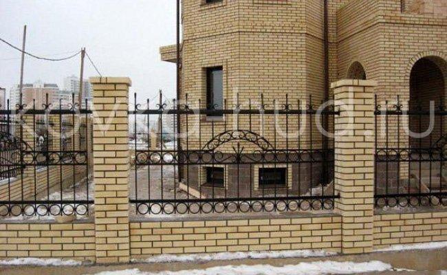 Забор кованый kz-37