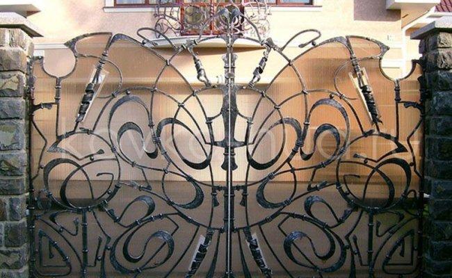 Ворота кованые kv-83