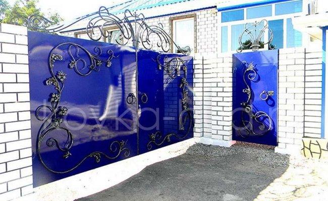 Ворота кованые kv-84