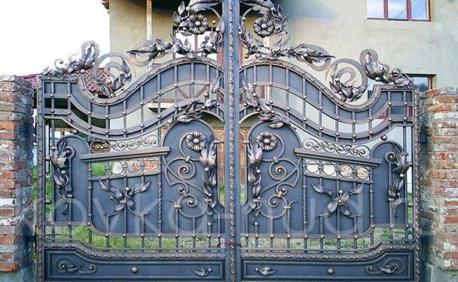 Кованые ворота kv-85
