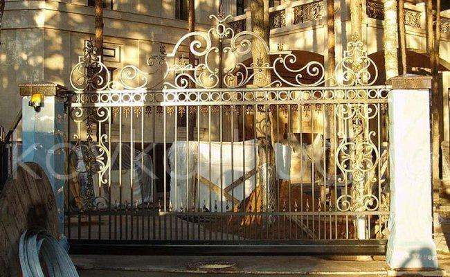 Ворота кованые kv-86