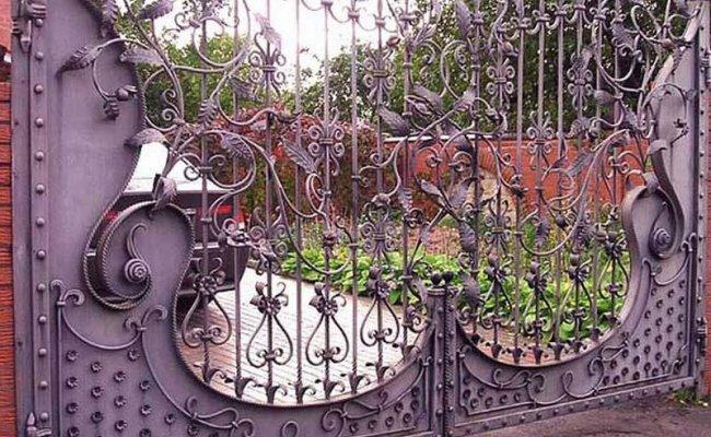 Ворота кованые kv-88