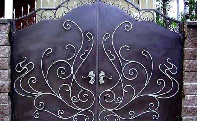 Ворота кованые kv-89