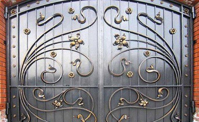Ворота кованые kv-90