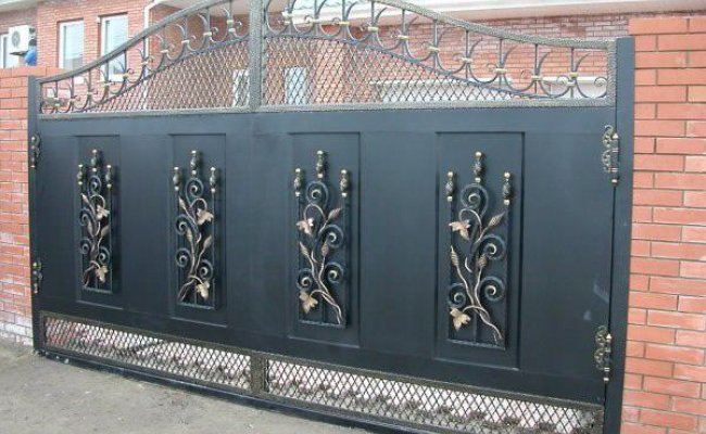 Ворота кованые kv-15