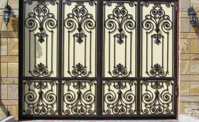 Ворота кованые kv-17