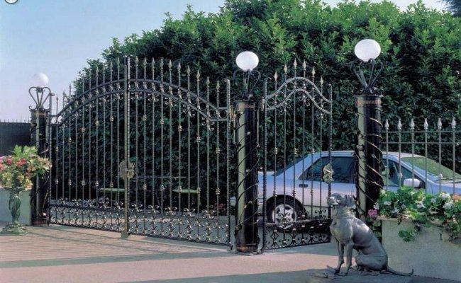 Ворота кованые kv-18