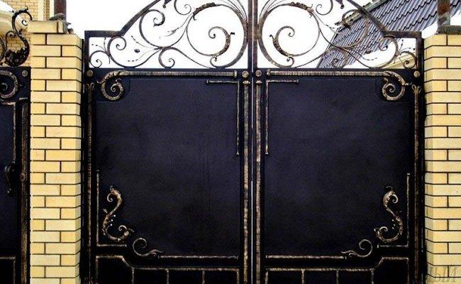 Ворота кованые kv-19