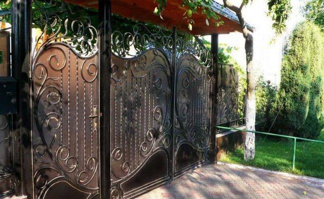 Ворота кованые kv-22
