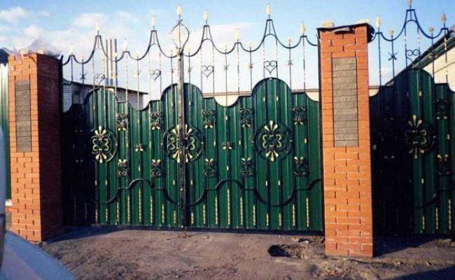 Ворота кованые kv-24