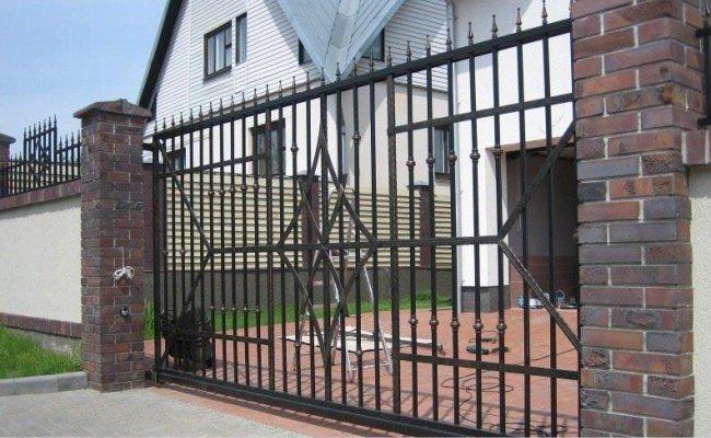 Ворота кованые kv-28