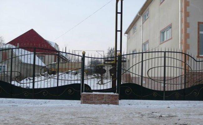 Ворота кованые kv-30