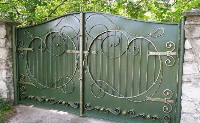Ворота кованые kv-31