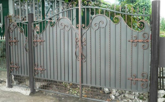 Ворота кованые kv-33
